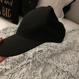 Cute suede/ish fabric hat